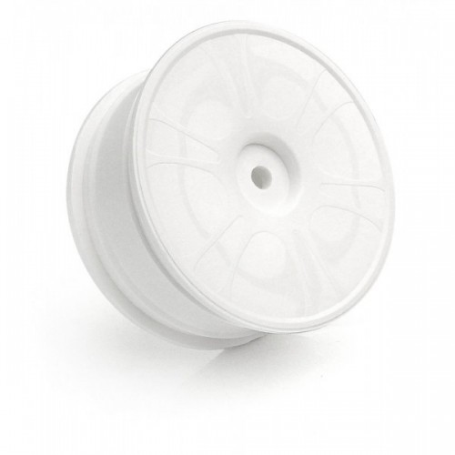 HUDY 24MM WHEELS STARBURST AERODISK - WHITE - SOFT (4)
