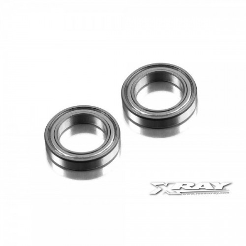 BALL-BEARING 13x20x4 STEEL SEALED - GREASE (2)