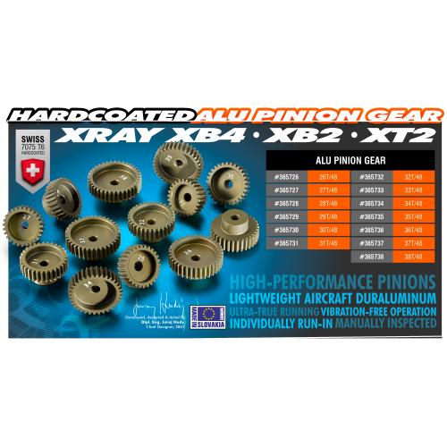 MonacoRC Ball Bearings orange kit for T4F (12pcs)