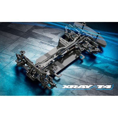 XRAY T4 2021 Specs - 1/10 Touring Car - GRAPHITE Edition
