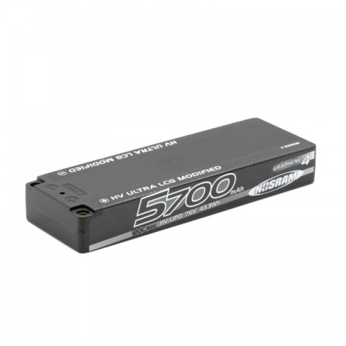 Nosram Lipo Battery HV LCG Modified Graphene-4 5700mAh - 7.6V