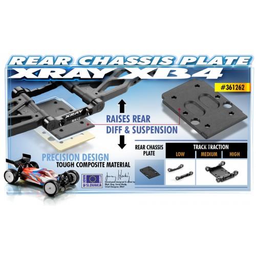 Alloy Steering MF Wheel (Y-Type) [FBK+R] [Flat Black & Red]