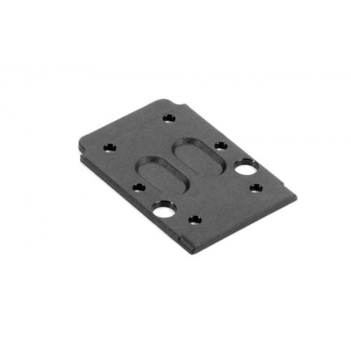 4mm Alloy Serrated Wheel Nut [Orange] 4 PCS