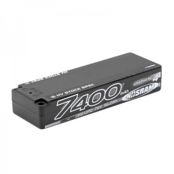 HV LCG Stock Spec Graphene-4 7400mAh - 7.6V