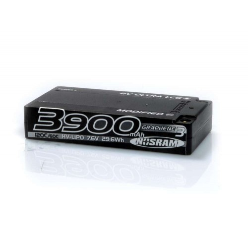 HV UltraLCG Shorty Mod. Graphene 3 - 3900mAh - 7.6V LiPo 120C/60C