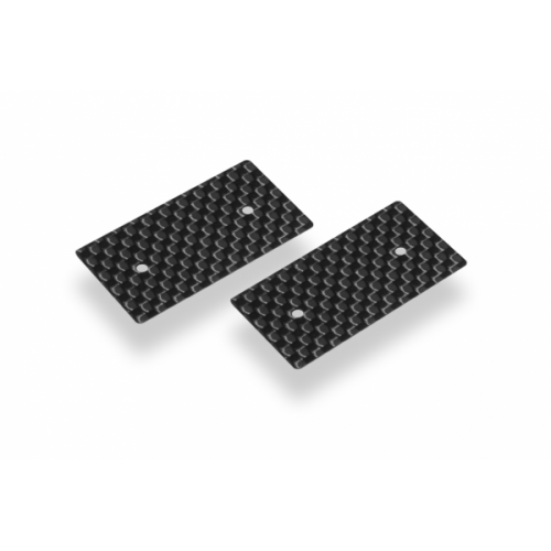 Hudy Graphite Rear Wing Side Plate 0.5mm - 1/10 Electric (2)