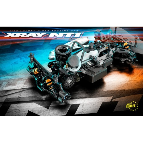 Xray NT1.3 2021 1/10th Nitro OnRoad Kit