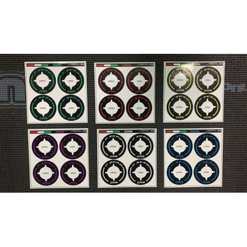 A-Paint F1 Tyres Decals Set (6)
