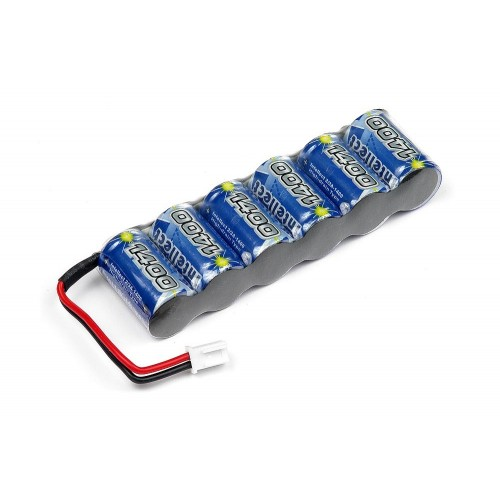 INTELLECT BATTERY PACK 6-CELL 1400mAh NiMH - 7.2V