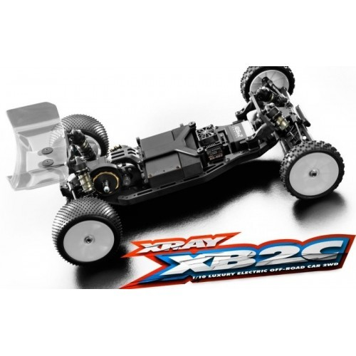 XRAY XB2C'19 - 2WD 1/10 ELECTRIC OFF-ROAD CAR - CARPET EDITION