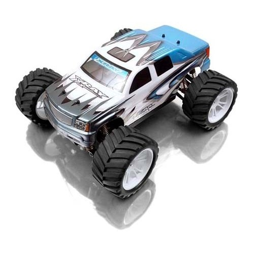 XRAY M18MT - 4WD SHAFT DRIVE 1/18 MICRO MONSTER TRUCK + POWER PACK